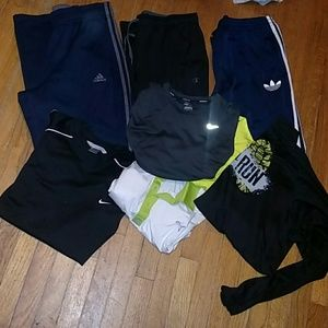 Mens Active Wear Bundle Adidas, Nike..............